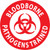 "Blood Bourne Pathogens Trained, 2"", Pressure Sensitive Vinyl Hard Hat Emblem, 25 per Pack"