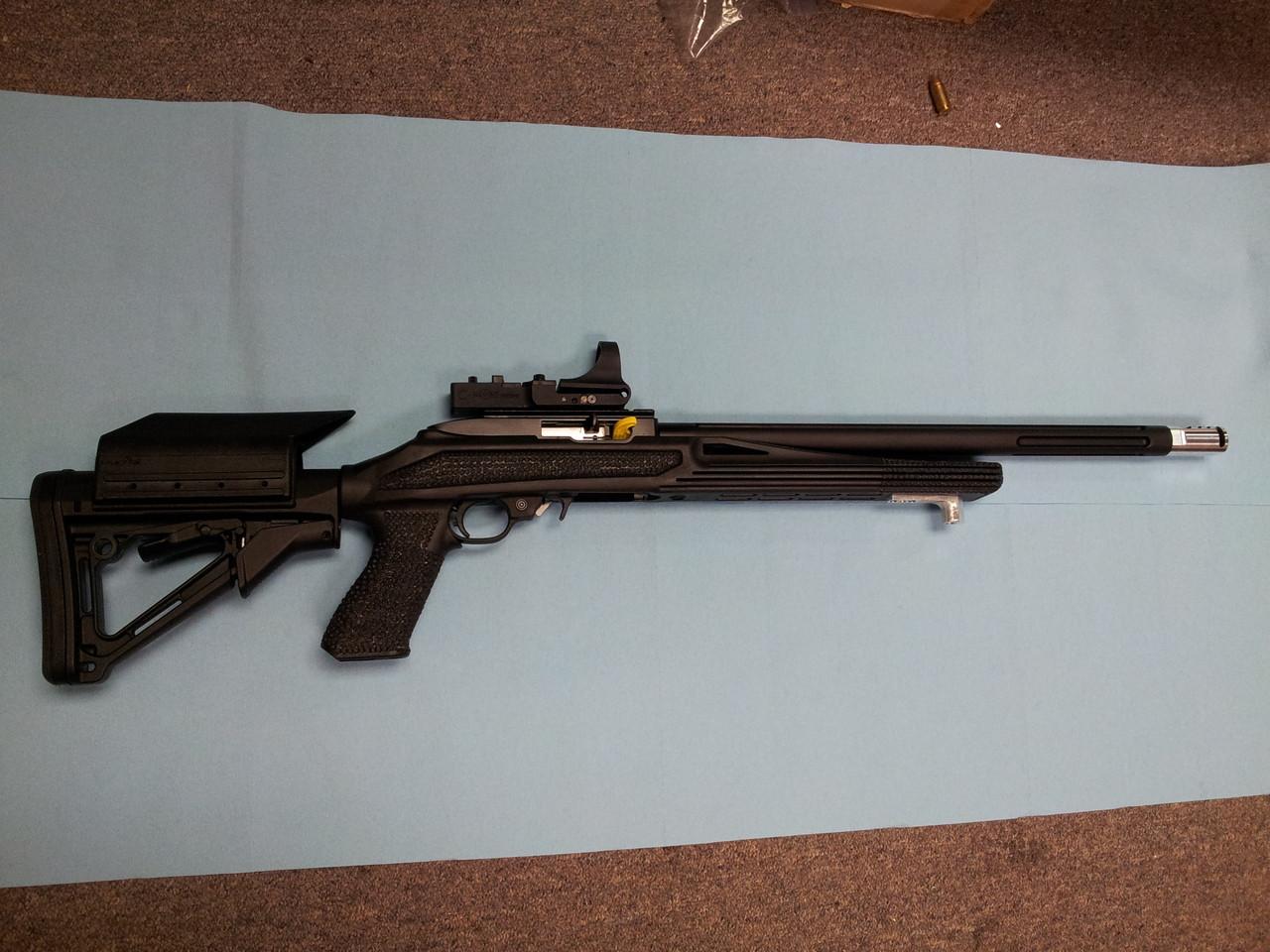 SJC Raptor Open Rimfire Rifle Package