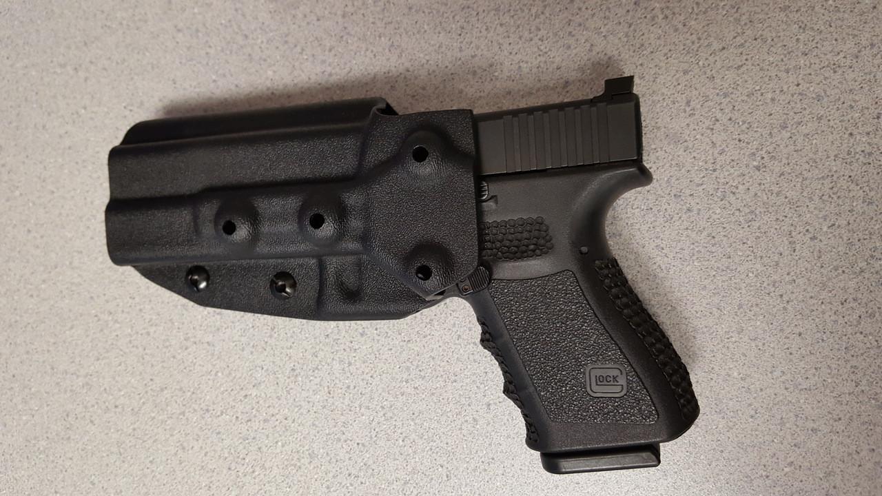 kydex moulded holster for sjc frame weight
