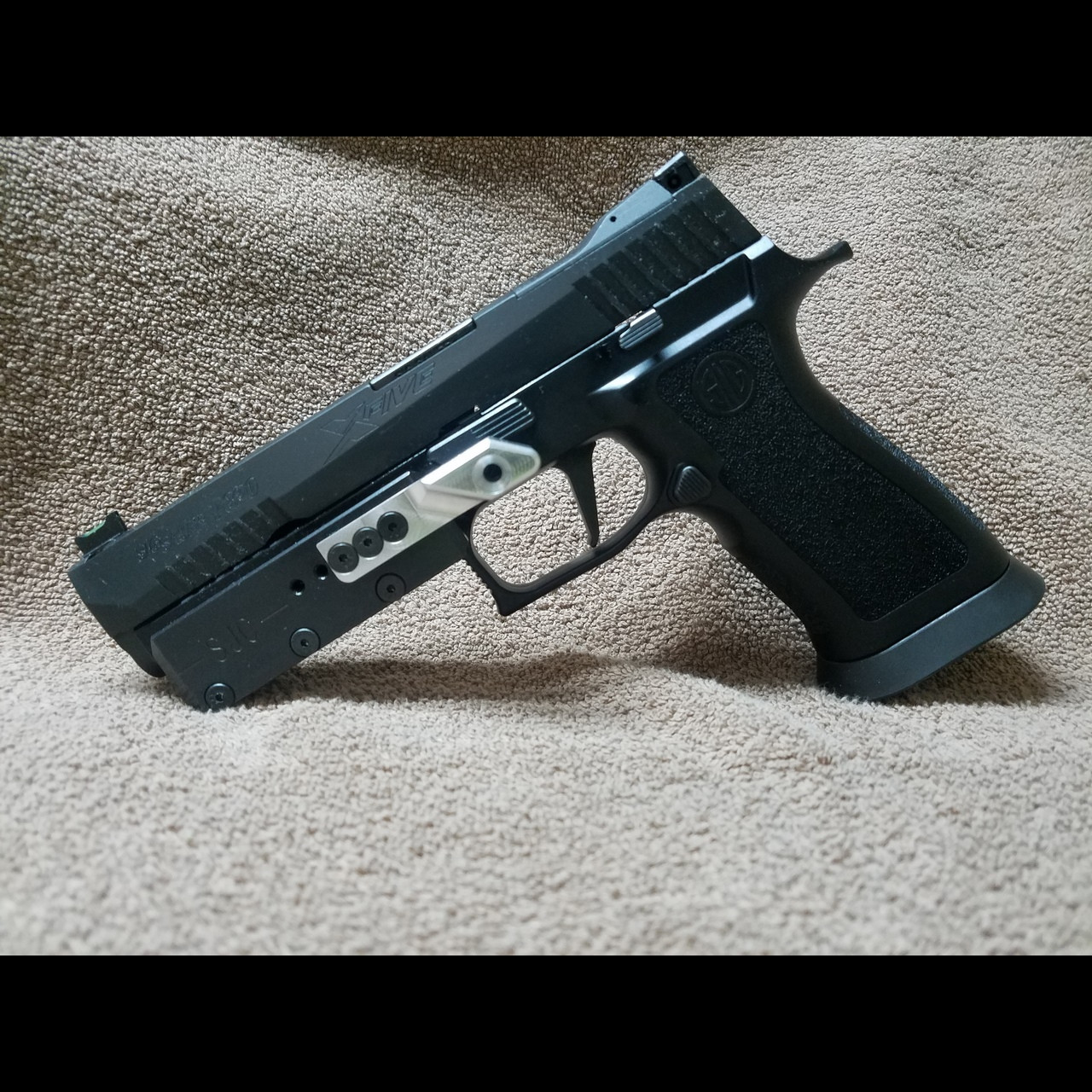 SJC P320 Sig frame weight
