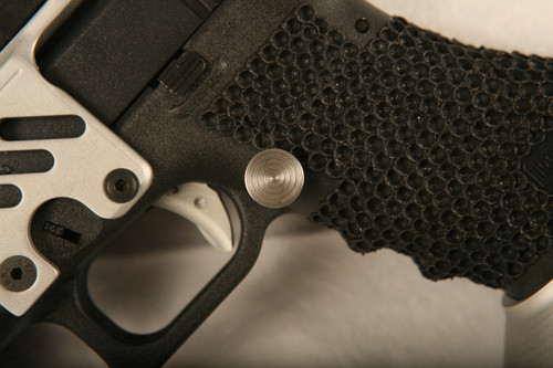 SJC Grip stippling for Glocks and M&Ps