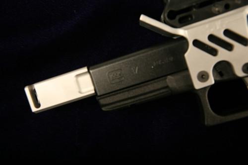 SJC 9mm Compensator 5 port Aluminum