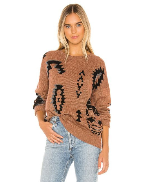 BRIELLE TRIBAL PULLOVER