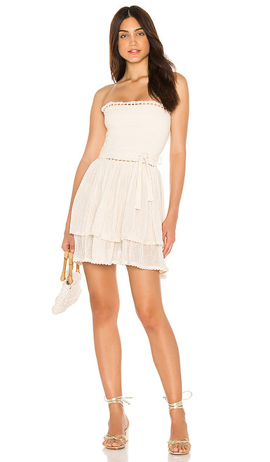AGUARELA MINI DRESS NAT