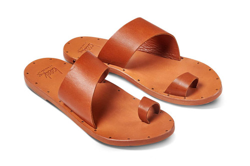 FINCH SANDAL TAN/TAN