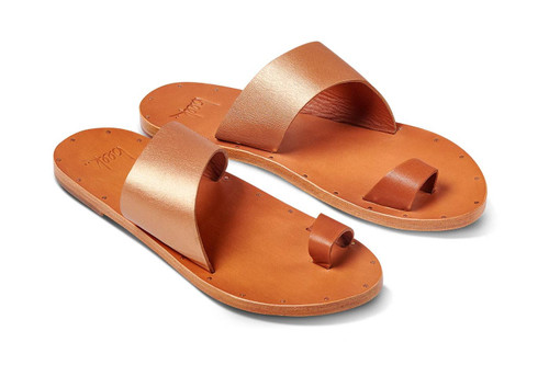 FINCH SANDAL RG/TAN