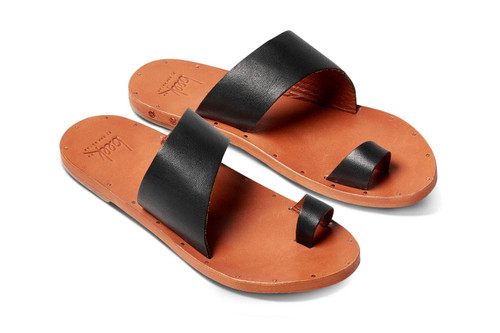 FINCH SANDAL BLK/TAN