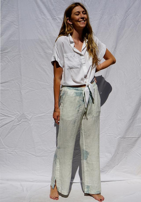 WIDE LEG PANT CRYSTAL
