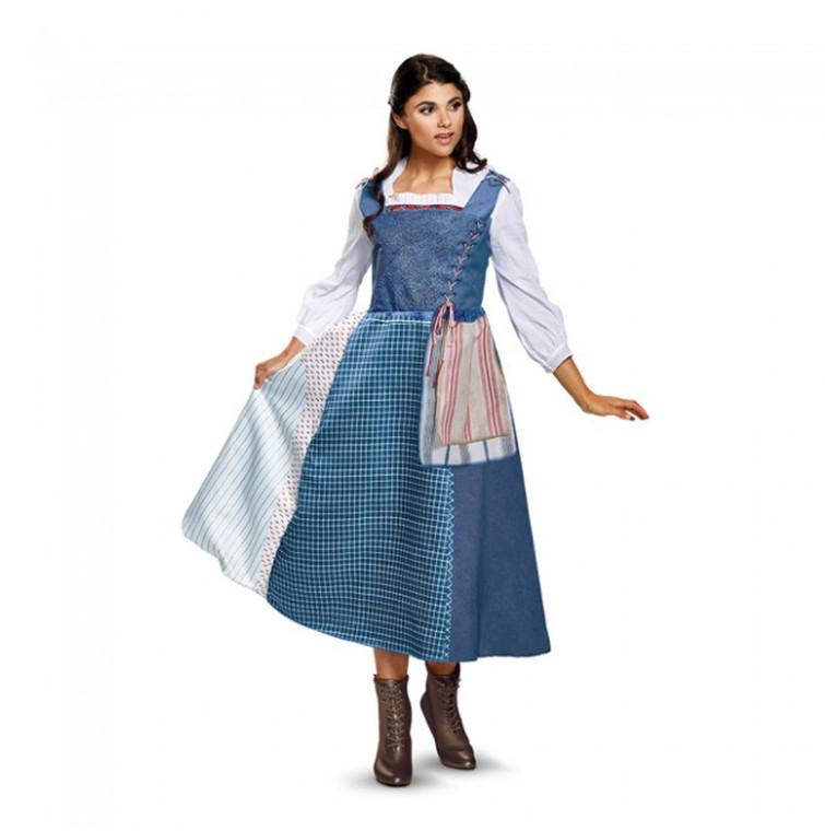 Belle's Village Dress Deluxe Adult