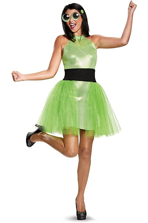 Buttercup PowerPuff Girls Deluxe Adult Costume