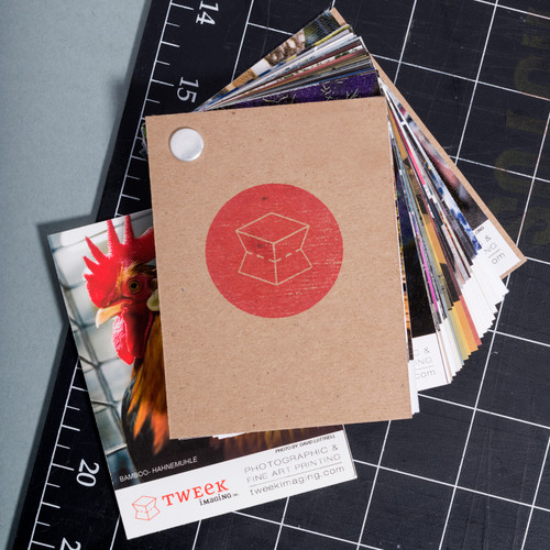 Paper Sample Book