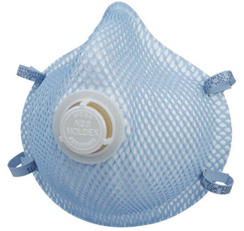 MOLDEX 2300 N95 RESPIRATOR WITH EXHALATION VALVE (CASE OF 100)