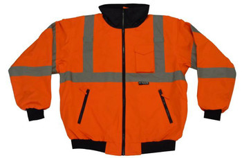 ANSI CLASS 3 SAFETY BOMBER JACKET