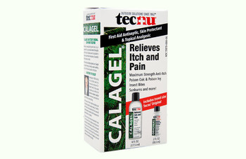 TECNU CALAGEL MEDICATED ANTI-ITCH GEL 6 OZ, 24 BOTTLES