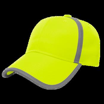 HIGH VISIBILITY CAP CA3016-GREEN