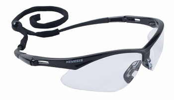 NEMESIS SAFETY GLASSES ANTIFOG CLEAR LENS 3000355, 12 PAIRS TO BOX
