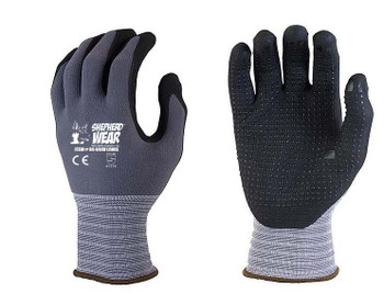 SHEPHERD WEAR GLOVES WITH DOTS -12 PAIRS