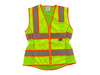 ANSI CLASS 2 LADIES CONTOURED SAFETY VEST