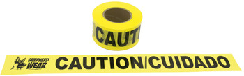 "CAUTION TAPE 3""x1,000' , 1 ROLL"