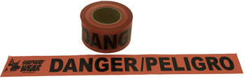 "DANGER TAPE 3""x 1,000' , 1 ROLL"