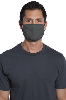 PORT AUTHORITY COTTON KNIT FACE MASK, CHARCOAL (150 PIECES)