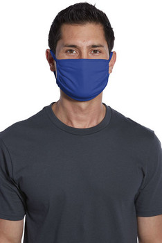 PORT AUTHORITY COTTON KNIT FACE MASK, DEEP ROYAL (150 PIECES)