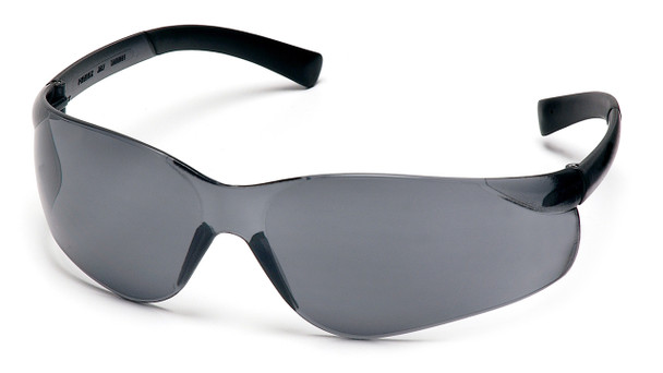 SAFETY GLASSES GRAY LENS AL211G, 12 PAIRS TO BOX