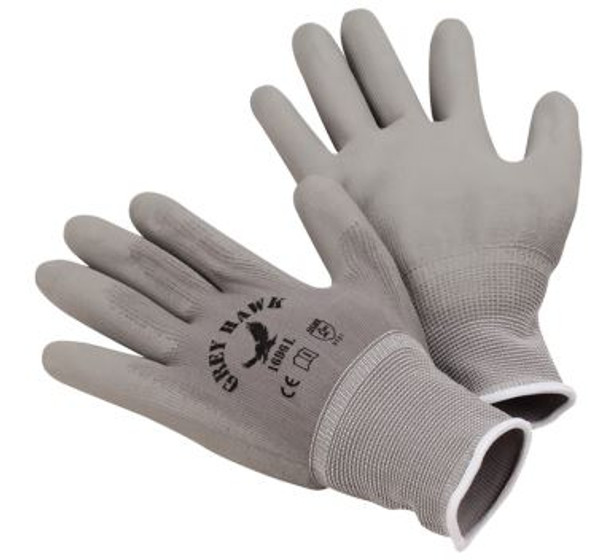 GRAY HAWK LINER GLOVES -12 PAIRS