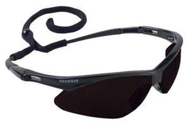 NEMESIS SAFETY GLASSES ANTIFOG SMOKE LENS 3020121, 12 PAIRS TO BOX