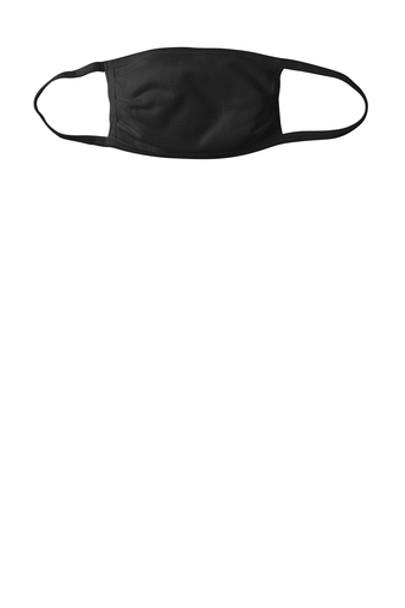 PORT AUTHORITY COTTON KNIT FACE MASK, BLACK (150/PIECES)