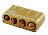 DAA Golden Multi Caliber Case Gauge 9mm. 38 Super, 40 S&W, 45 ACP