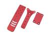 BSPS BOSS DOH Holster Hanger - Hanger Mount Only red