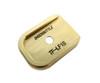 EAA/Tanfoglio Witness Large Frame Easy Off Heavy Brass Basepad / Base Pad by ShockBottle