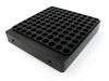 100-Hole 40 S&W Hundo Chamber Checker Cartridge Case Gauge  casegauge - Anodized Black by Shockbottle shock bottle