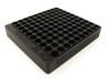 100-Hole 45 ACP Chamber Checker Cartridge Case Gauge - Anodized Black Hundo Casegauge by Shockbottle Shock Bottle