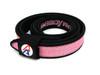 "Double Alpha Academy (DAA) Premium Nylon Competition Double Belt 1-1/2""  Pink"