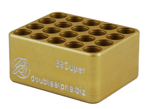 DAA Golden 20-Pocket Case Gauge by Double Alpha Academy