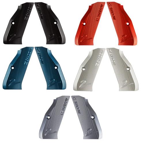 CZ Shadow 2 Factory Aluminum Grips colors