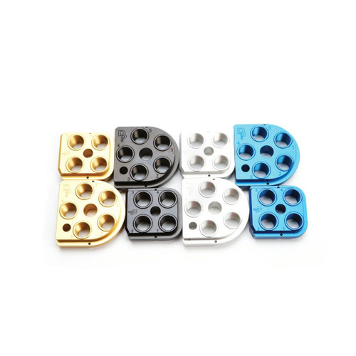 Dillon Precision XL650 & XL750 Billet Aluminum Anodized Toolheads (650 BTH)
