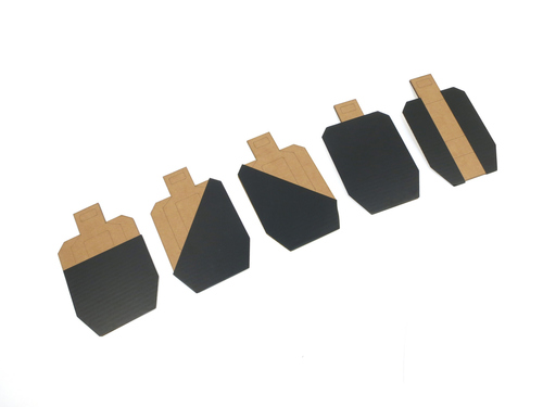 Hard Cover Stickers for BSPS Dry-Fire Targets  USPSA Metric