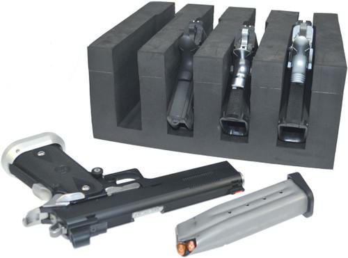 CED Pistol Foam Pistol / Handgun Caddy