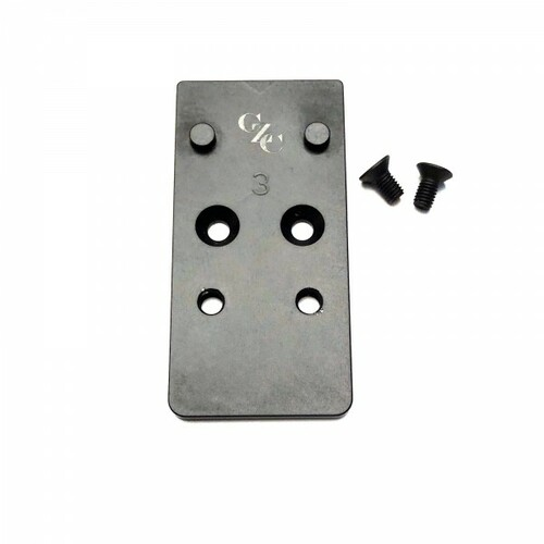 CZC CZ P10 Optic Ready Mounting Plate DP Pro & Shield by CZ Custom (16066) CZ Shadow 2 Optic Ready (91251)