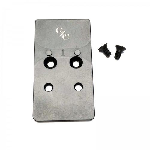 CZC CZ P10 Optic Ready Mounting Plate C-More & Vortex Razor by CZ Custom (16064) CZ Shadow 2 Optic Ready (91251)