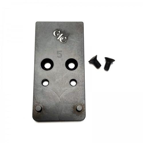 CZC CZ P10 Optic Ready Mounting Plate Sig Romeo 1 by CZ Custom (16068) CZ Shadow 2 Optic Ready (91251)