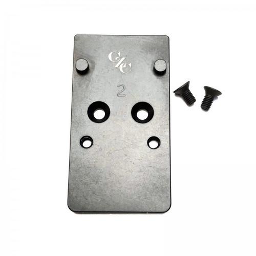 CZC CZ P10 Optic Ready Mounting Plate RMR & Holosun by CZ Custom (16065) CZ Shadow 2 Optic Ready (91251)