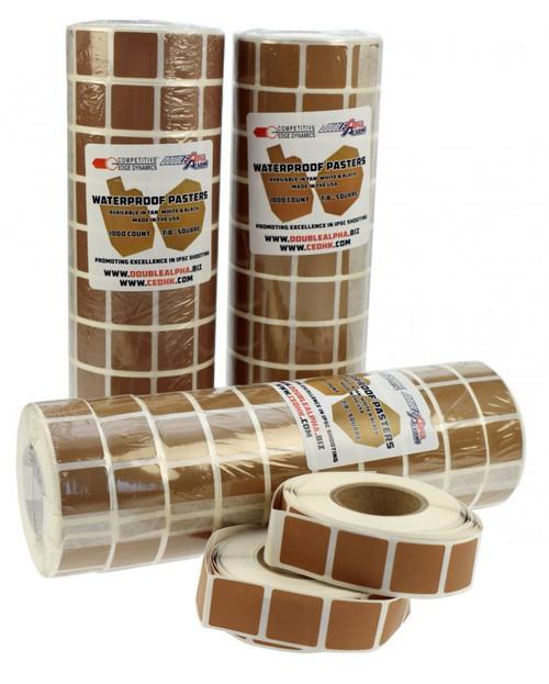 CED/DAA Waterproof Target Pasters - Pack of 10, Unboxed