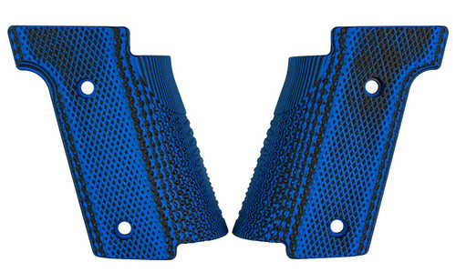 Walther Q5 Match Steel Frame Thin Grips by Lok Grips