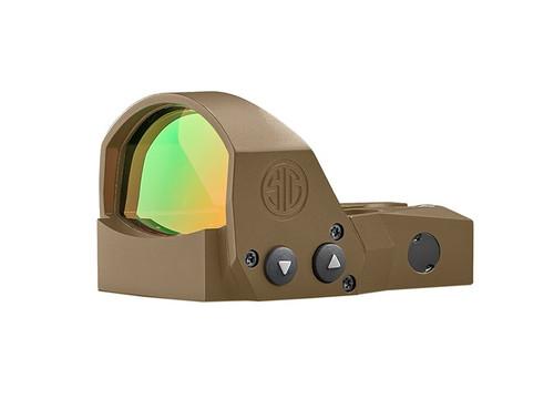 Sig Sauer Romeo1 Pro 6 MOA Red Dot Optic Sight in FDE (SOR1P103)