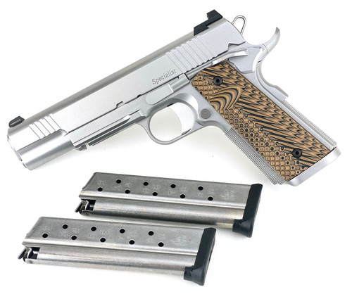 Dan Wesson Railed 1911 Specialist in 9mm (01807)