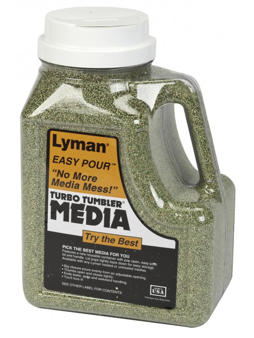 Lyman Treated Corn Cob Turbo Brass Cleaning Media (7631394)